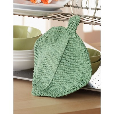 Garden Leaf Dishcloth