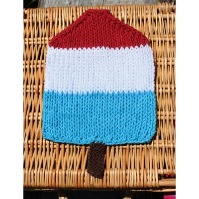 Popsicle Dishcloth