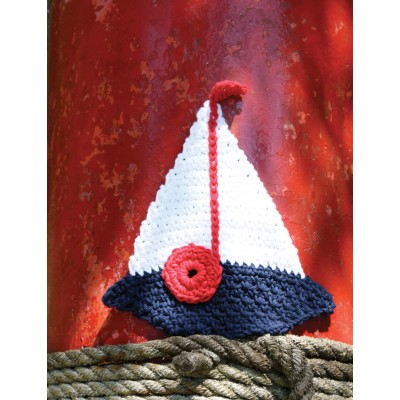 Sailboat Dishcloth