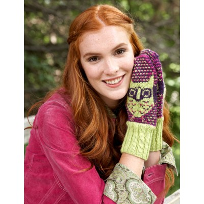 Step 4: Hoot Mitts (knit)