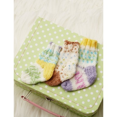 Pretty Pattern Baby Socks
