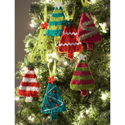 Simple Knitting Patterns Christmas Decorations : Crafting Life in Eire: Christmas Decorations - Knit Free Patterns