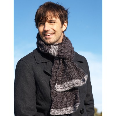 Rugged Weave Scarf
