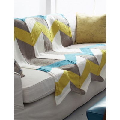 Color Pop Chevron Blanket