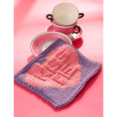 'Kiss Me' Candy Dishcloth