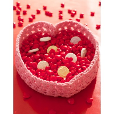 Heart Valentine Candy Basket