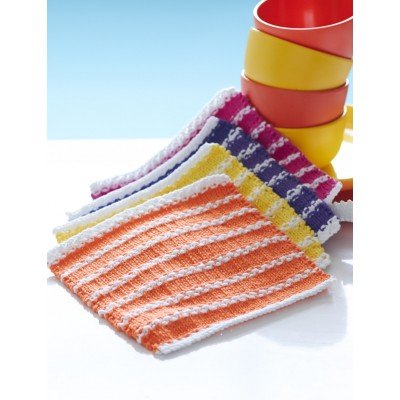 Beach Towel Stripe Dishcloths