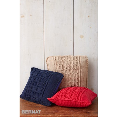 Cable Knit Trio Pillows