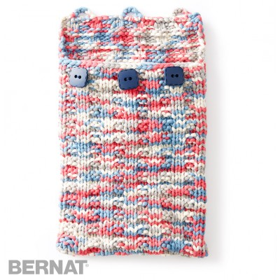 Bernat Knitting Patterns Free : Bernat Undercover Knit Tablet Case, Knit Pattern Yarnspirations