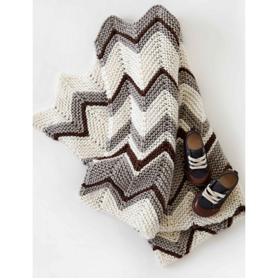 Zig Zag Knitted Blanket Pattern Image Collections Knitting