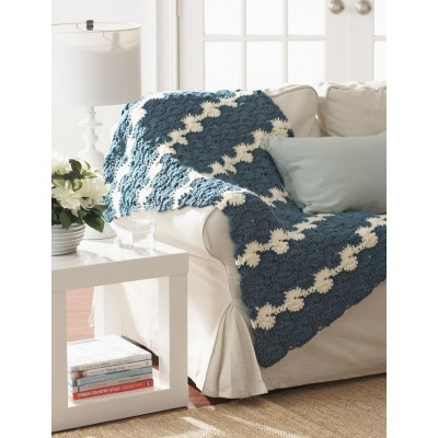 Gentle Waves Lap Blanket