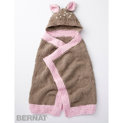Bernat Baby Blanket Knitting Patterns : Bernat Oh Deer Blanket, Knit Pattern Yarnspirations