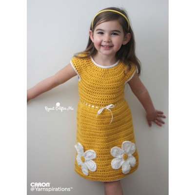 Crochet Daisy Dress