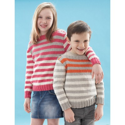 Happy Stripes Pullover