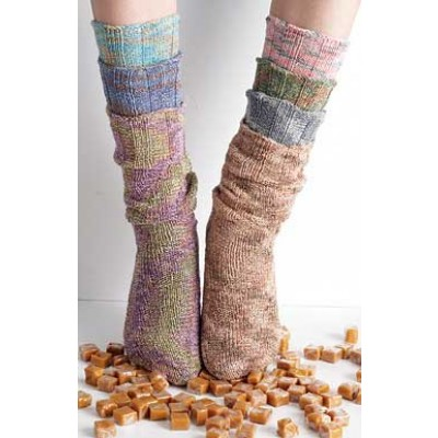 Spiral Tube Socks