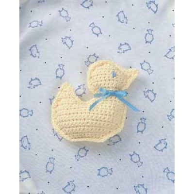 Crochet Duck Toy