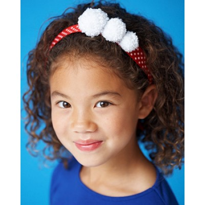 Satin Sparkle - Pompom Headband (craft)