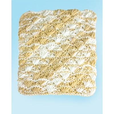 Shell Stitch Dishcloth