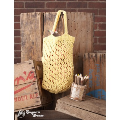 Lattice Lace Market Bag