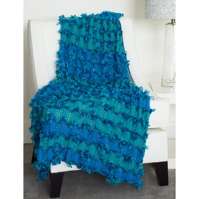Loopy Waves Afghan