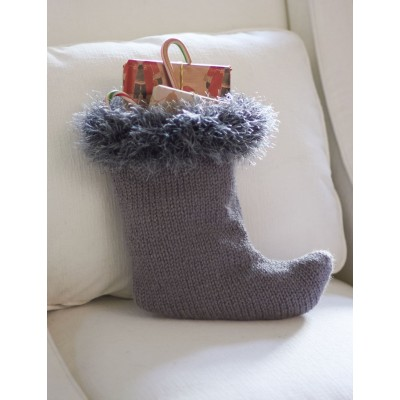Fur Cuff Stocking
