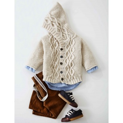 Cabled Knit Cardigan