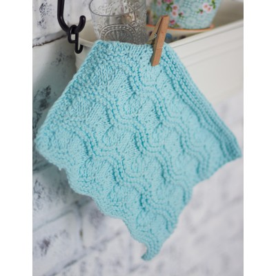 Ripple Stitch Dishcloth