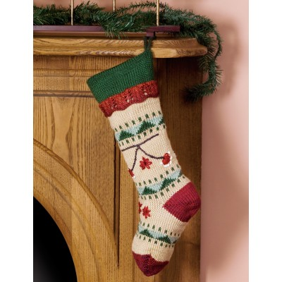 Folkways Christmas Stocking