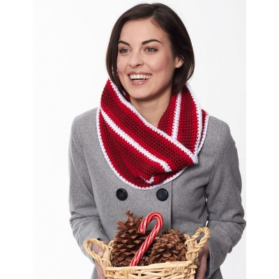 Holiday Stripes Cowl