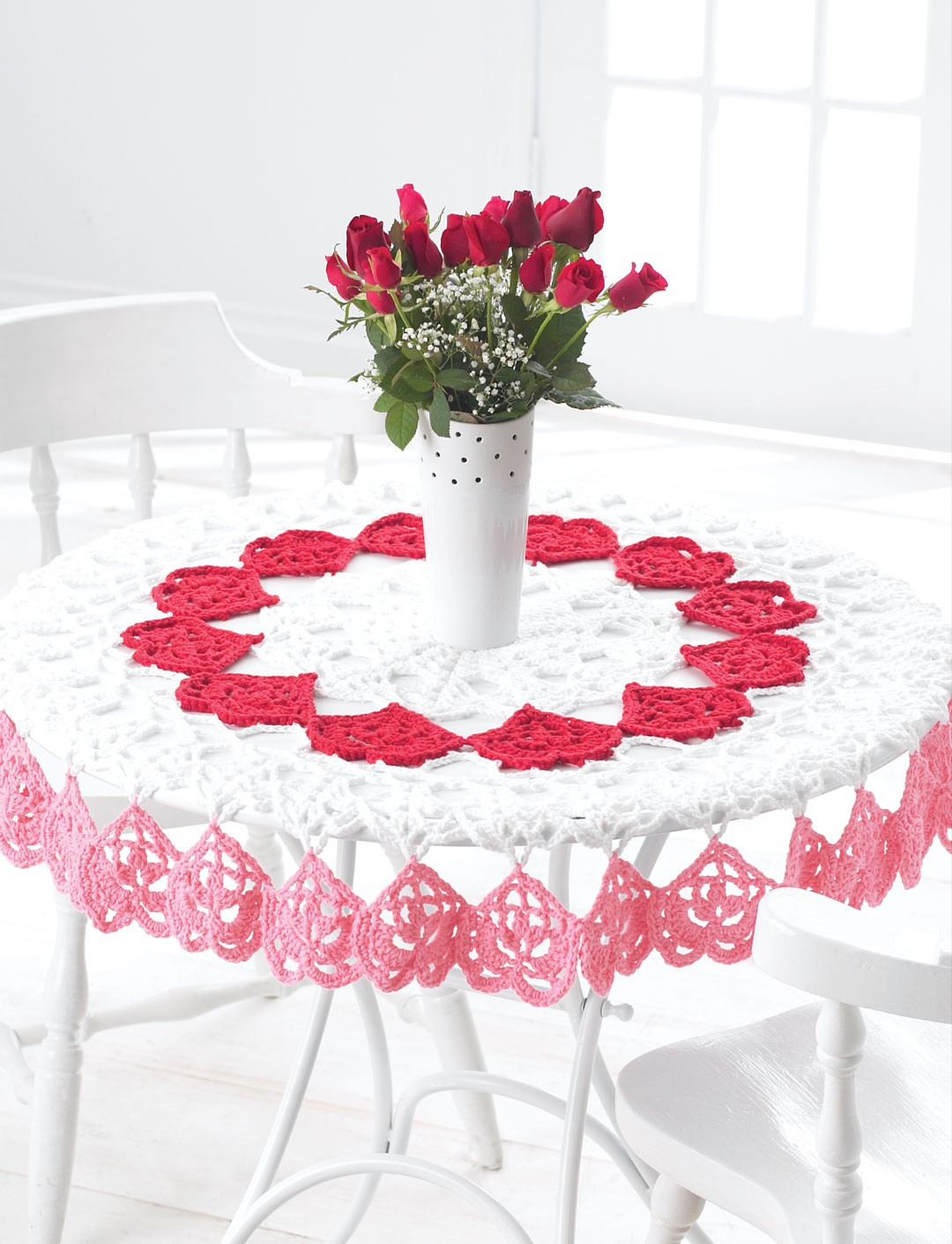 Valentines Tablecloth