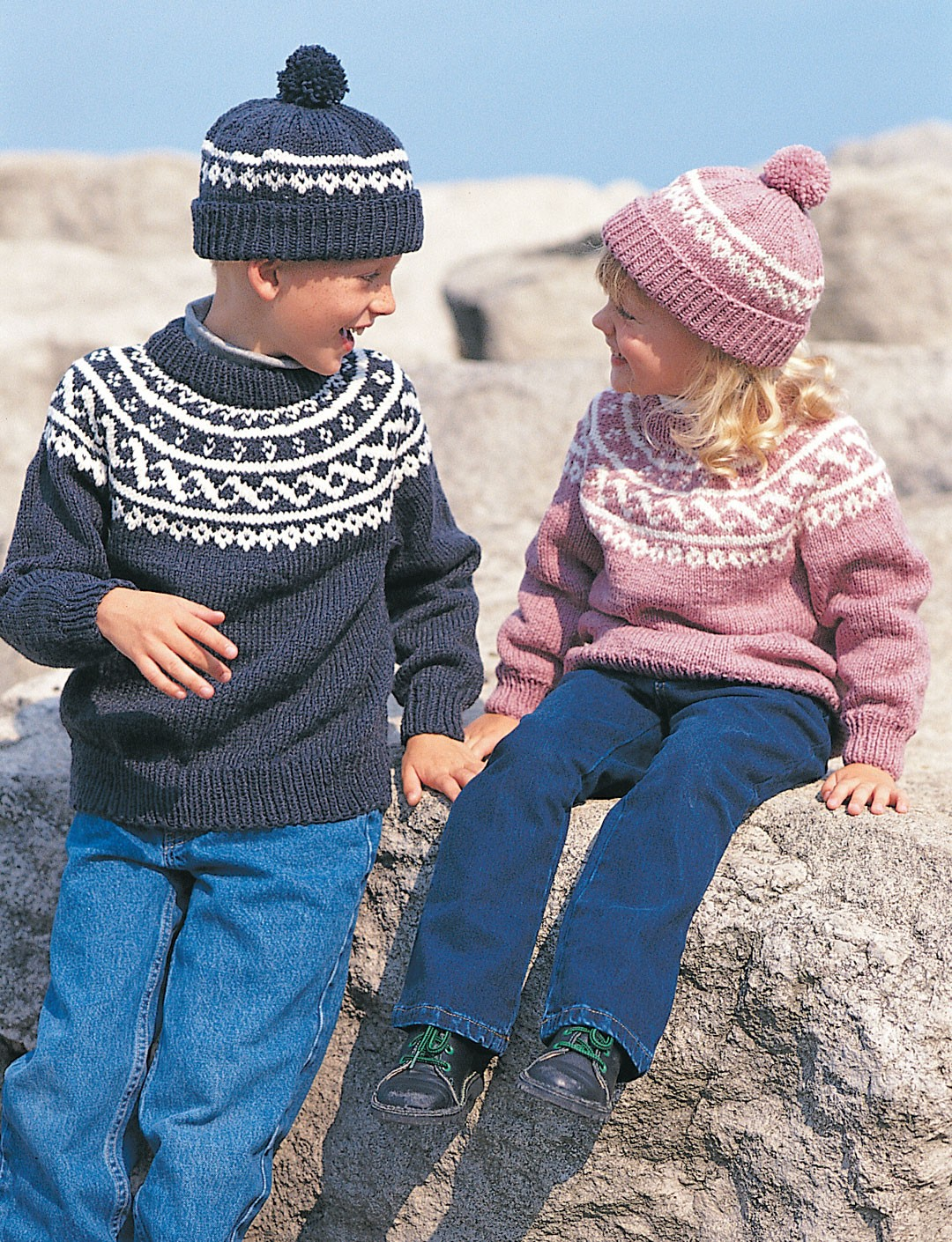Fair Isle Knitting Kits Canada : Pullover toque patterns yarnspirations