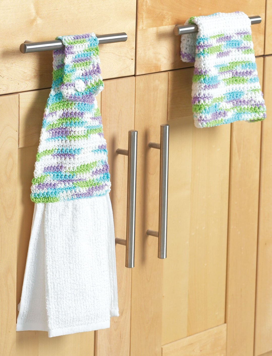 Towel Topper & Dishcloth