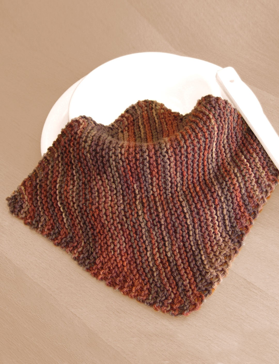 Basic Knit Dishcloth