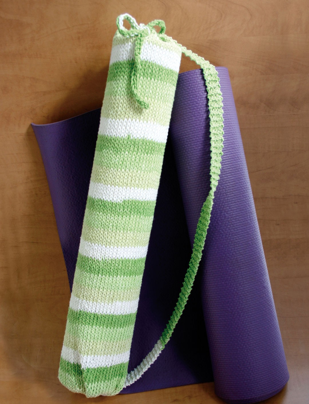 Stripes Yoga Bag