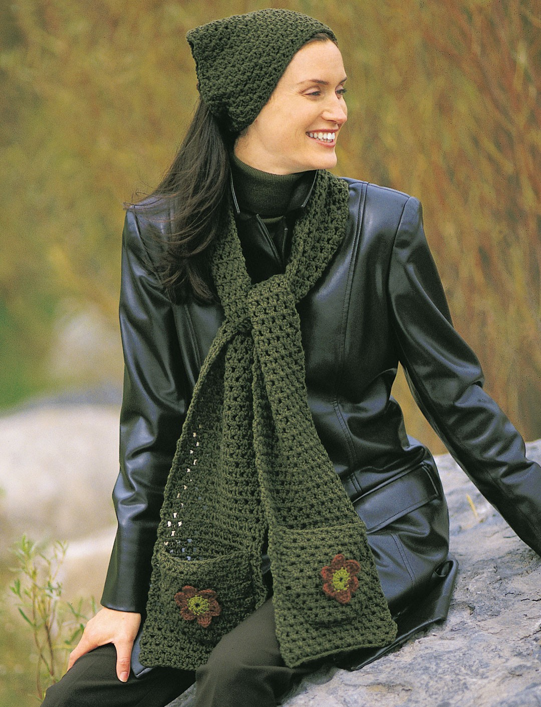 Applique Kerchief & Scarf