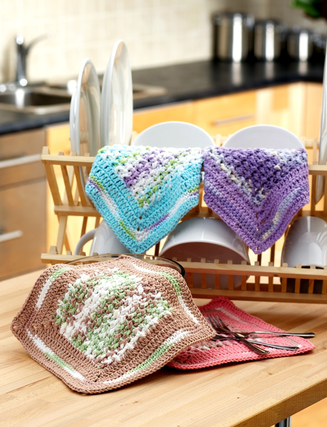 Spring Dreams Dishcloth