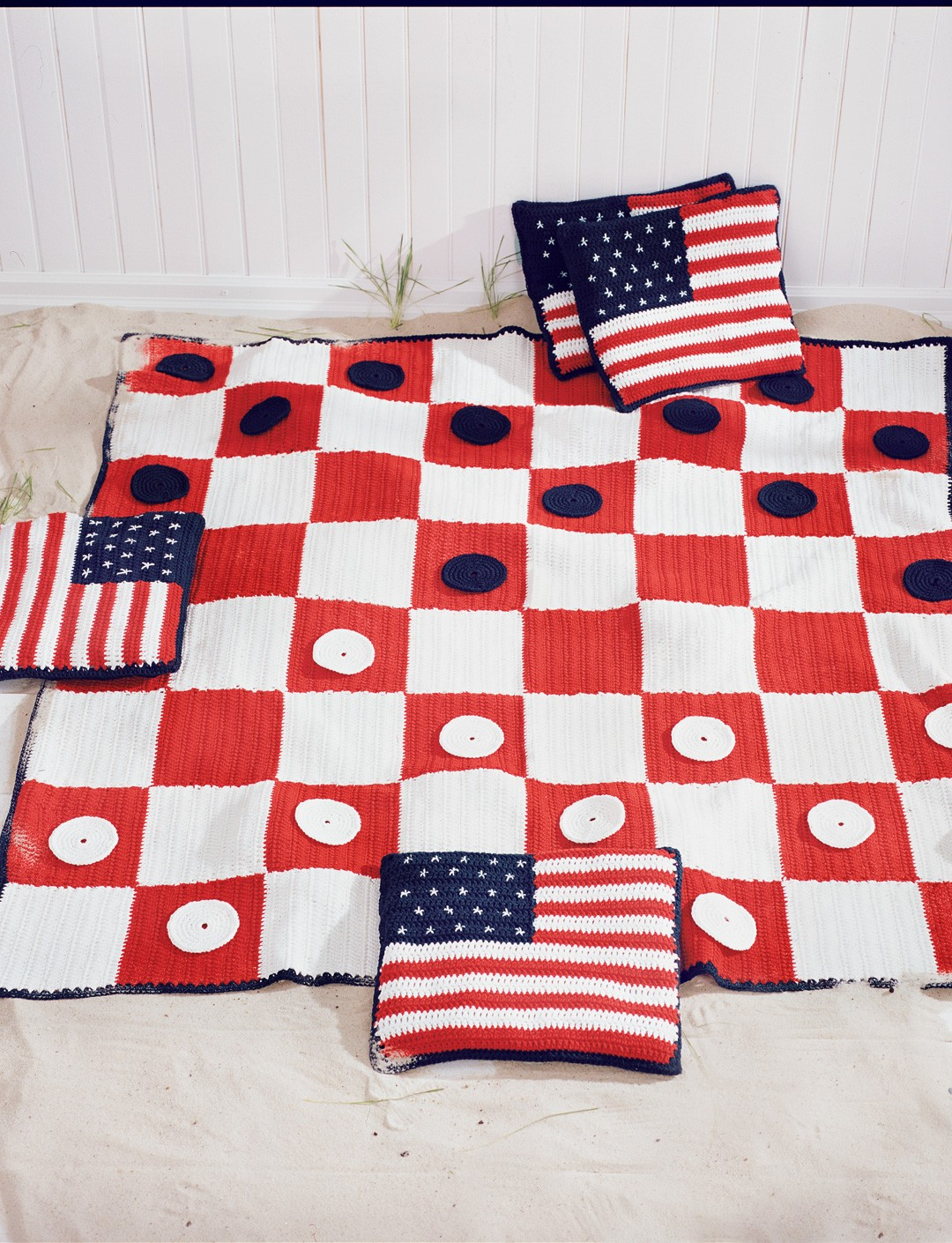 Checkerboard Picnic Blanket