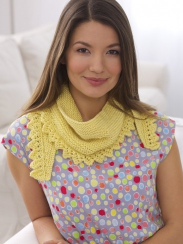 Short Row Shawlette