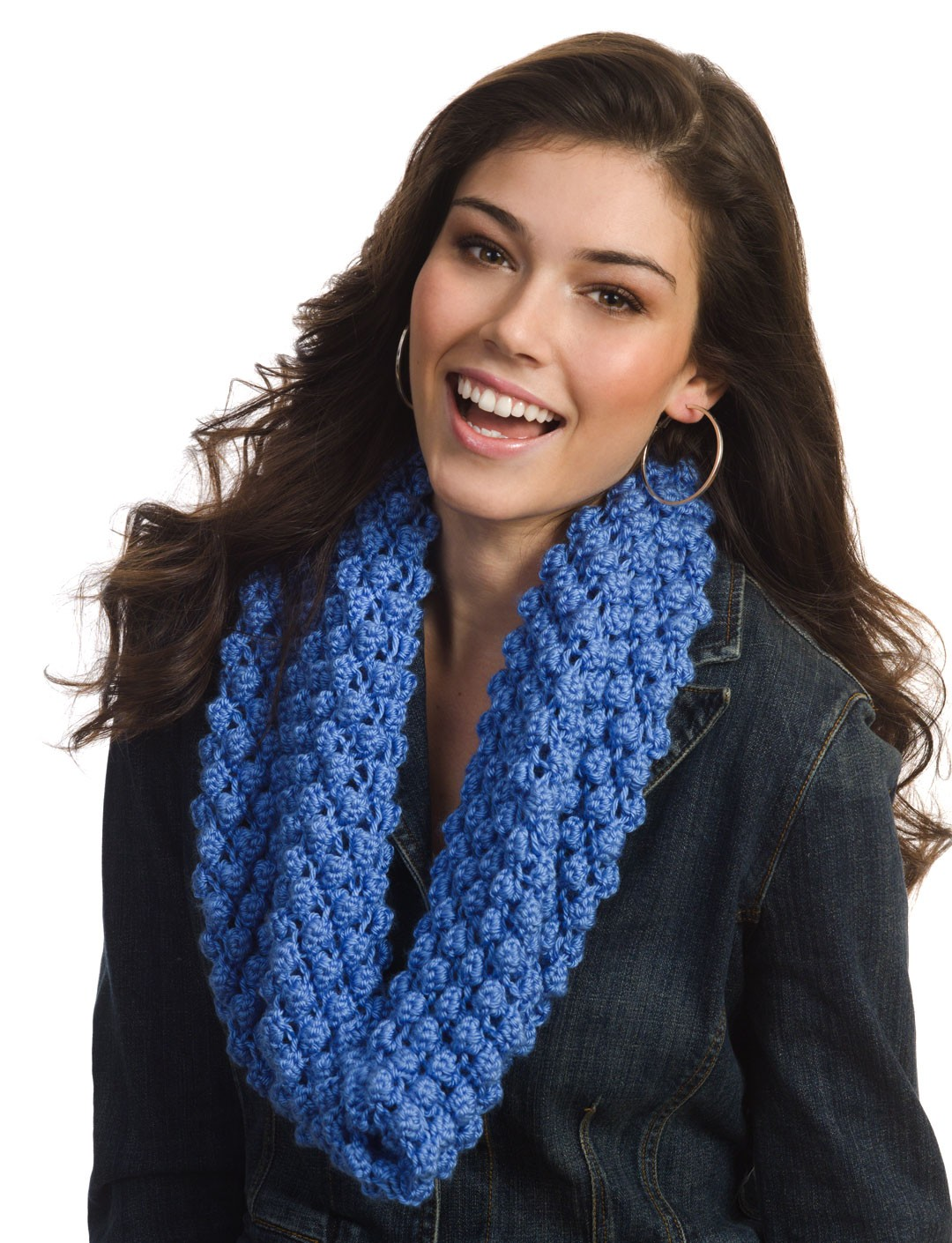 Bobble Blackberry Cowl