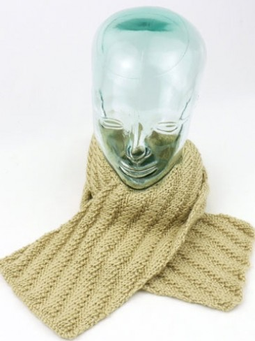 Textured Diagonal Scarf