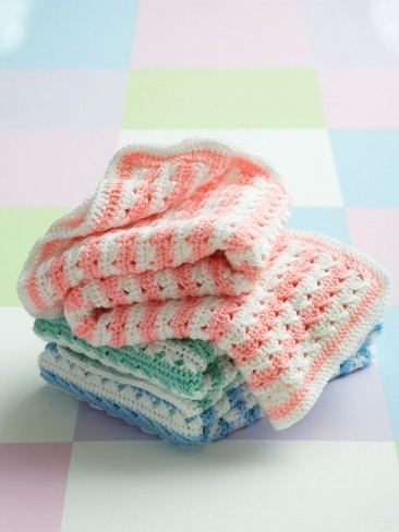 Crochet Stripes Blanket