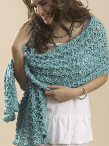 One Skein Summer Wrap