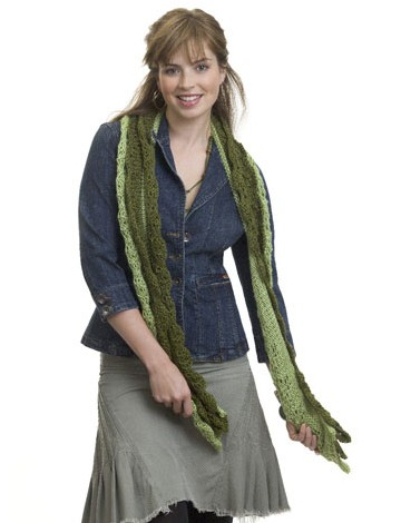Knit Layered Scarf