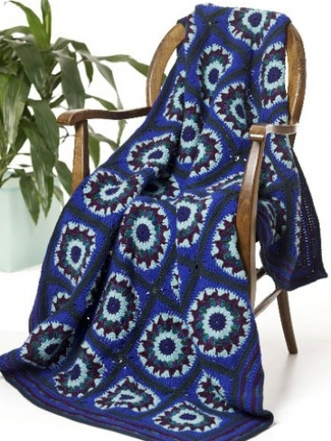 Blue Lagoon Throw