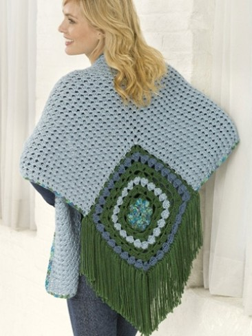 Center Square Shawl