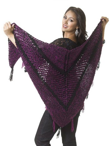 Subtle Sparkle Shawl