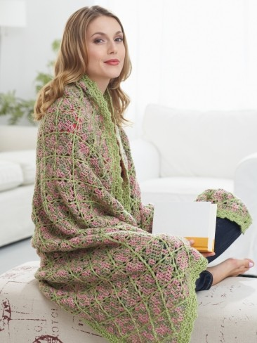 Garden Path Throw