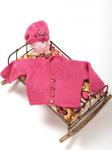 Keeping It Simple Baby Jacket & Hat