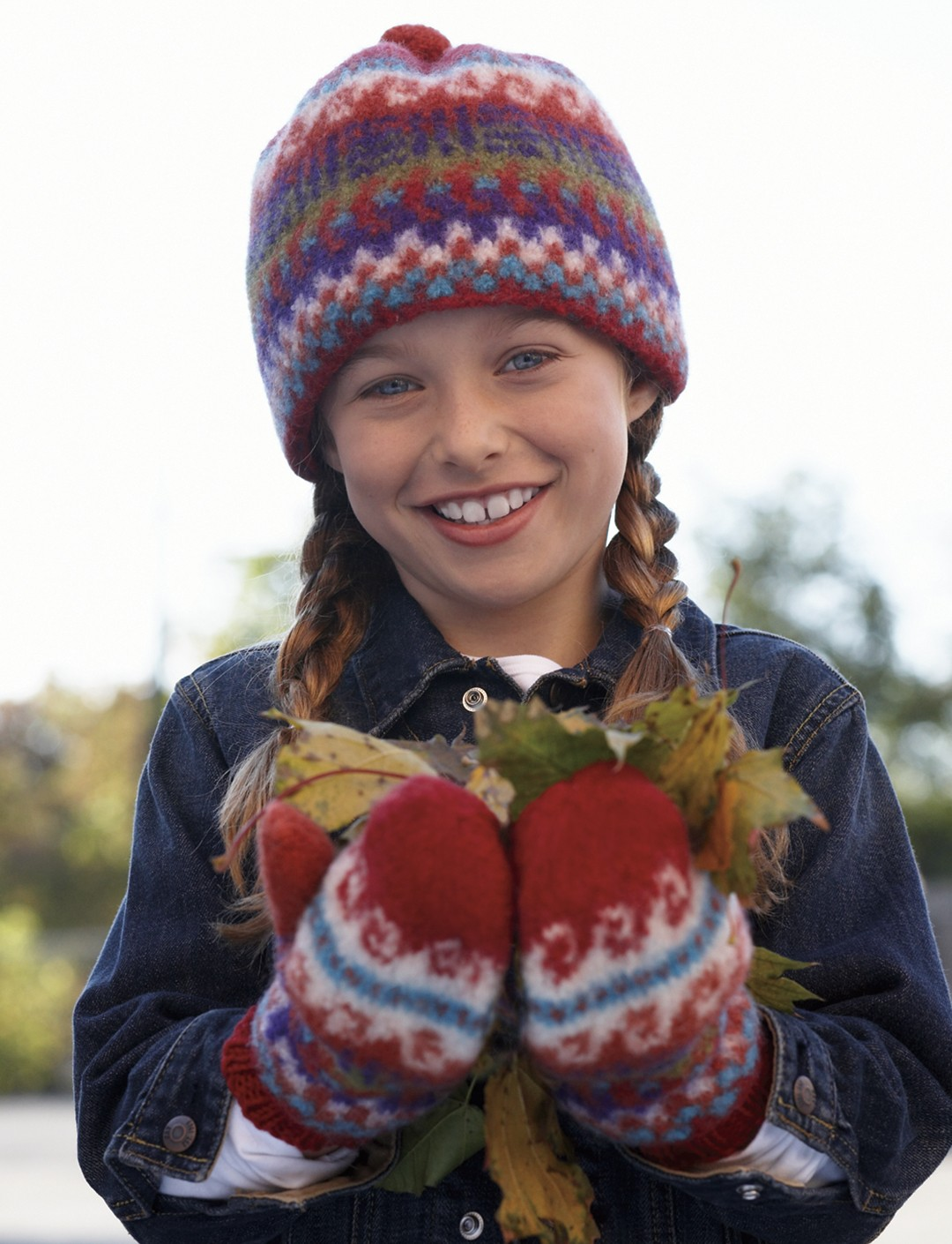 Fair Isle Hat and Mittens