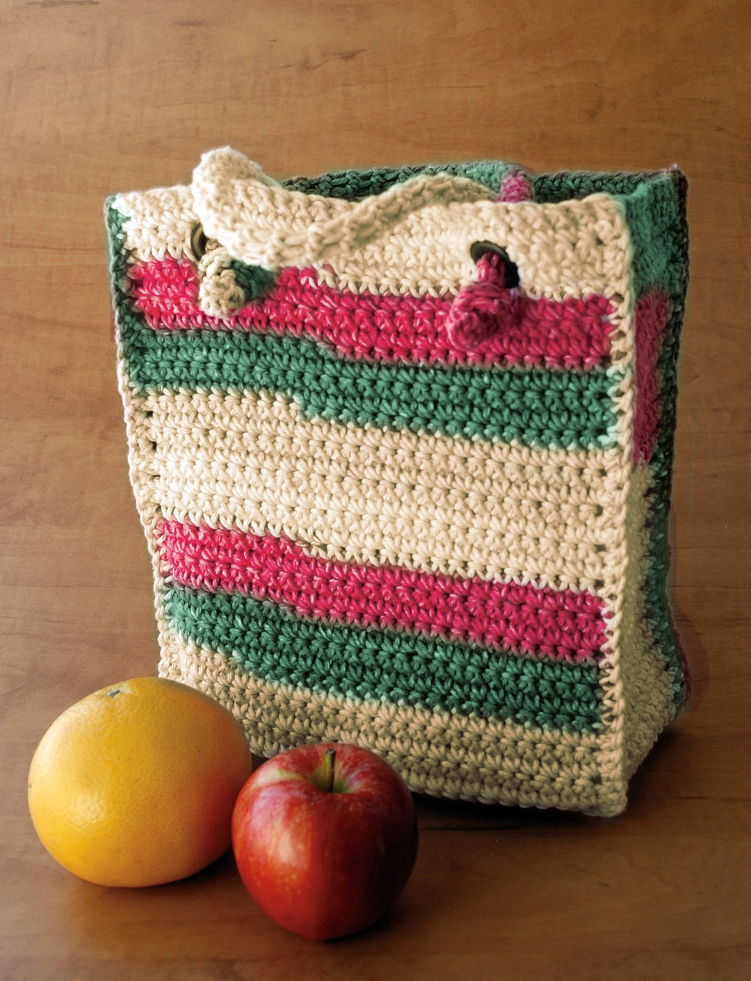 Lily Sugar And Cream Free Crochet Patterns : Bag to Crochet - Patterns Yarnspirations